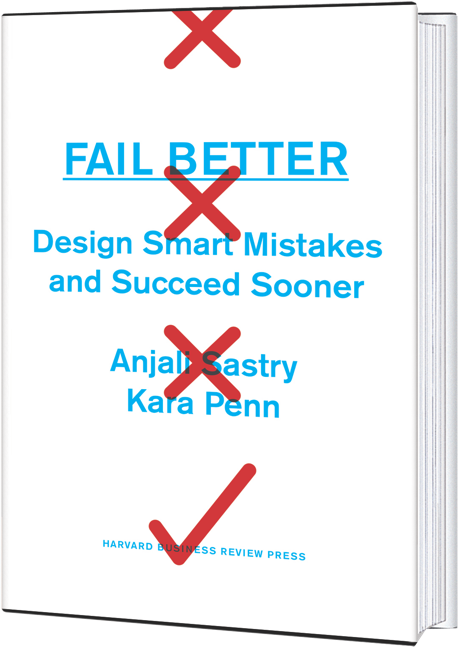 Fail Better Book Cover