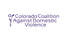 Colorado Coalition Against Domestic Violence Logo