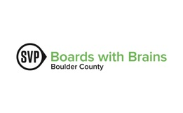 SVP Boards with Brains Boulder County Logo